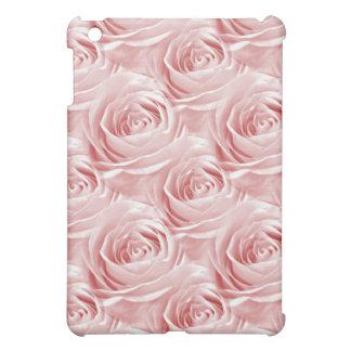 Pink Rose Wallpaper Pattern iPad Mini Cases