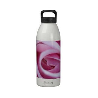 Pink Rose Drinking Bottles