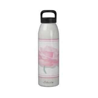 Pink Rose Water Bottles