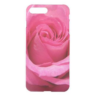 Pink Rose Wedding Photo iPhone 7 Plus Case