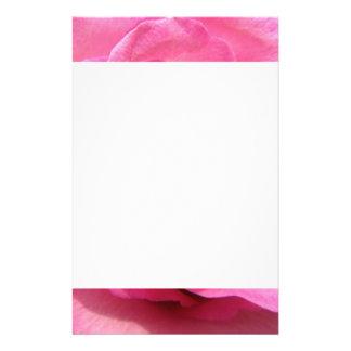 Pink Rose Wedding Photo Stationery