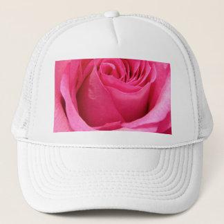 Pink Rose Wedding Photo Trucker Hat