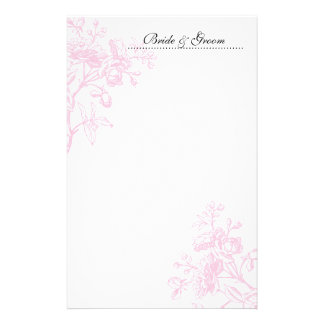 Pink Rose Wedding Stationery