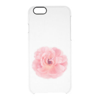 Pink Rose White Roses Wedding Flower Floral Uncommon Clearly™ Deflector iPhone 6 Case