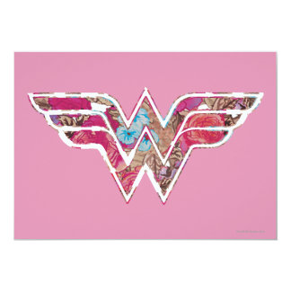 Pink Rose WW 5x7 Paper Invitation Card