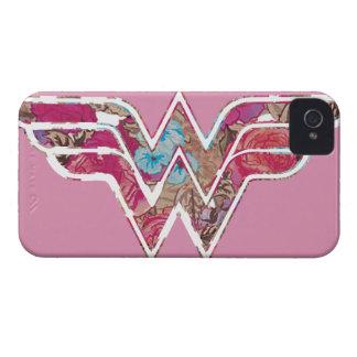 Pink Rose WW iPhone 4 Case-Mate Case