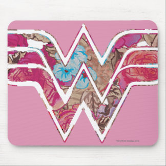 Pink Rose WW Mouse Pad