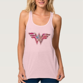 Pink Rose WW Tank Top