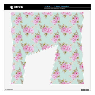 Pink Rose Xbox 360 S Console Skins