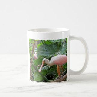 Pink Roseate Spoonbill Bird Coffee Mug