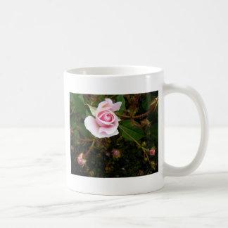 Pink Rosebud Classic White Coffee Mug