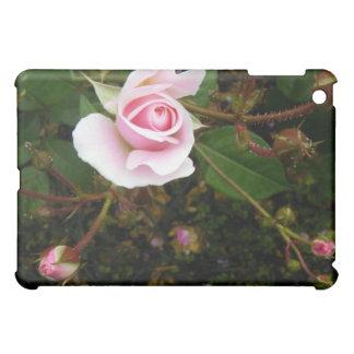 Pink Rosebud iPad Mini Cases