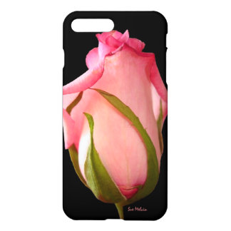 Pink Rosebud iPhone Case