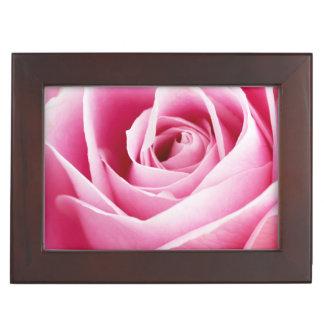 Pink Rosebud Keepsake Box