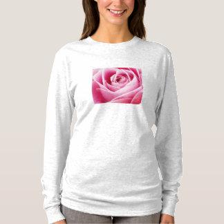 Pink Rosebud Long Sleeved T-Shirt