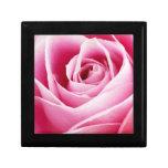 Pink Rosebud Trinket Boxes