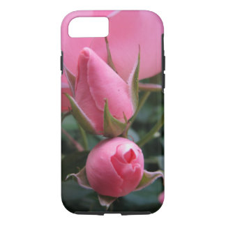 Pink rosebuds iPhone 8/7 case