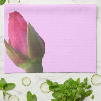 Pink Rosebuds Towel