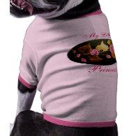 Pink Roses Dog Shirt
