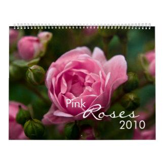 Pink Roses 2010 Calendar