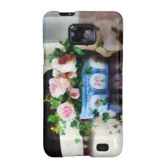 Pink Roses and Ivy Galaxy SII Case