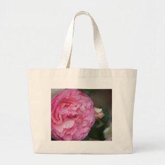 pink roses canvas bags