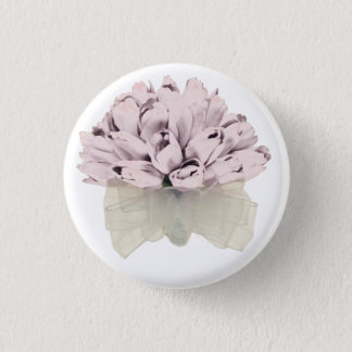 Pink Roses ~ Button