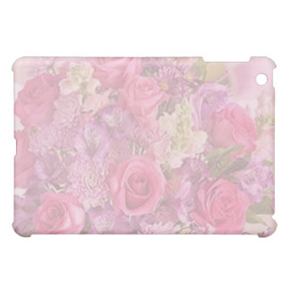 PINK ROSES by SHARON SHARPE iPad Mini Cases