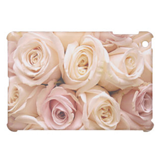 PINK ROSES by SHARON SHARPE iPad Mini Covers