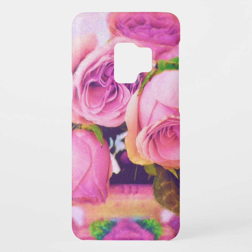 Pink Roses Case-Mate Samsung Galaxy S9 Case