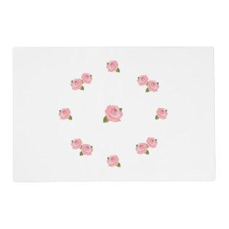 Pink Roses Circular Design
