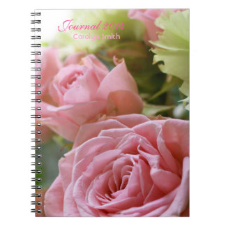 Pink Roses Cluster 1 Notebook