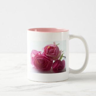 Pink Roses Coffe Mug