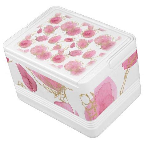Pink roses cooler