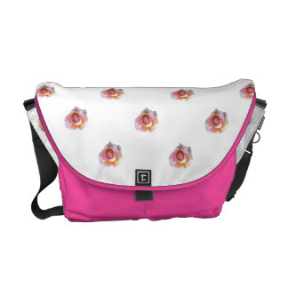 Pink Roses Courier Bag