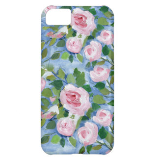 Pink Roses Cover For iPhone 5C