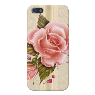 Pink Roses Cover For iPhone SE/5/5s