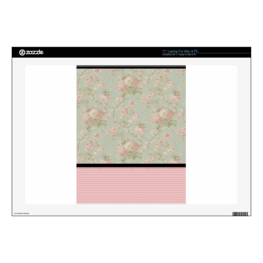 Pink Roses Decals For Laptops