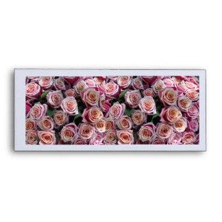 Pink Roses Envelopes