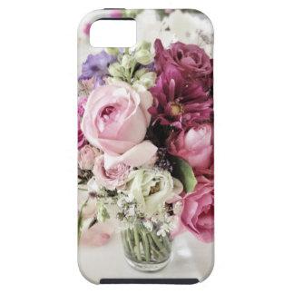 Pink Roses Flower Vase Wedding Party Photo iPhone SE/5/5s Case