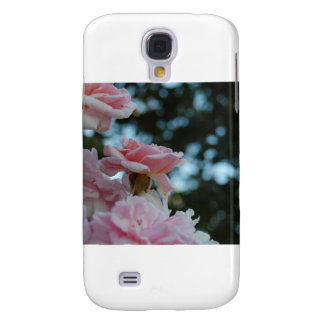 Pink Roses Galaxy S4 Cases