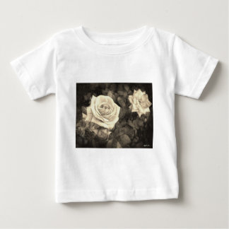 Pink Roses in Anzures 1 Antiqued Baby T-Shirt