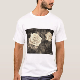 Pink Roses in Anzures 1 Antiqued T-Shirt