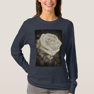 Pink Roses in Anzures 2 Antiqued T-Shirt