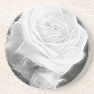 Pink Roses in Anzures 2 Crystal Drink Coaster