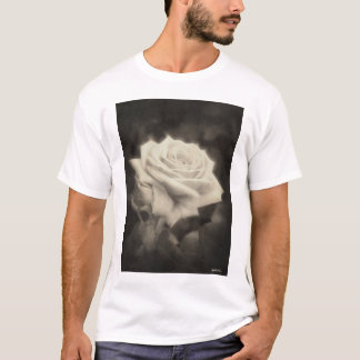 Pink Roses in Anzures 3 Antiqued T-Shirt