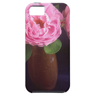 Pink Roses In Vase (June Birthday) iPhone SE/5/5s Case