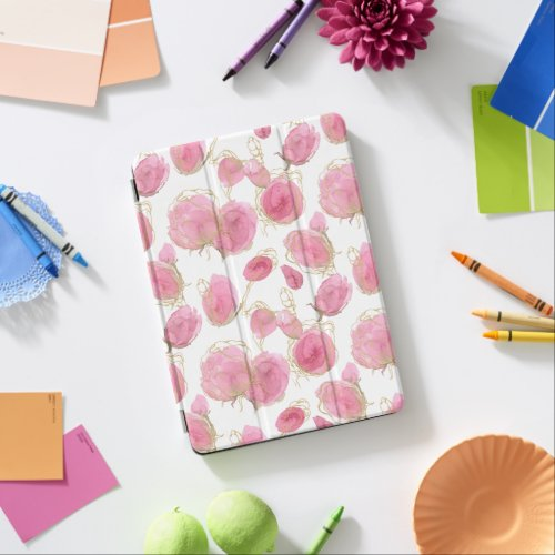 Pink roses iPad air cover