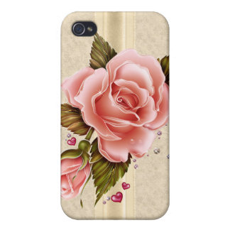 Pink Roses iPhone 4/4S Cases