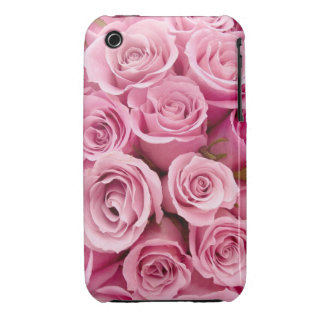 Pink Roses Iphone 4 cases